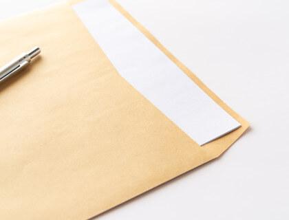 加入証書の送付